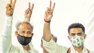 Ashok Gehlot Wins Floor Test: విశ్వాస పరీక్షలో గెహ్లాట్ విజయకేతనం, మూజువాణి ఓటుతో విజయం సాధించిన రాజస్థాన్ సీఎం, అసెంబ్లీ ఈ నెల 21కి వాయిదా