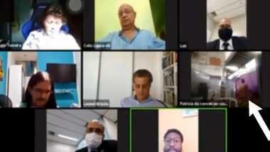 Zoom viral video: లైవ్ మీటింగ్, సెక్స్లో మునిగిపోయిన ఉద్యోగి, బ్రెజిల్లోని రియో డి జనీరో మున్సిపాలిటీ కౌన్సిలర్ల సమావేశంలో ఘటన, వైరల్ అవుతున్న వీడియో