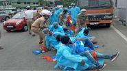 NSUI Protest at Pragathi Bhavan: తెలంగాణ సీఎం క్యాంప్ ఆఫీసును ముట్టడించిన ఎన్ఎస్యూఐ కార్యకర్తలు, ప్రవేశ పరీక్షలు వాయిదా వేయాలని డిమాండ్, కార్యకర్తలను అదుపులోకి తీసుకున్న పోలీసులు
