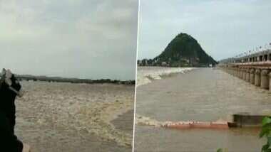 Andhra Pradesh Floods: ఏపీలో భారీ వర్షాలు, మరో రెండు రోజుల పాటు కొనసాగే అవకాశం ఉందని తెలిపిన వాతావరణ శాఖ, నిండుకుండలా జలాశయాలు, ప్రకాశం బ్యారేజీ ఏడు గేట్లు ఎత్తివేత