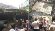 Bhiwandi Building Collapse: కుప్పకూలిన మూడు అంతస్థుల భవనం, పది మంది మృతి, శిథిలాల కింద మరింత మంది, మహారాష్ట్ర భీవండిలో ఘటన, సహాయక చర్యలు ముమ్మరం చేసిన ఎన్డీఆర్ఎఫ్ బృందాలు