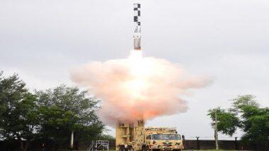 BrahMos Cruise Missile: దుమ్మురేపిన బ్రహ్మోస్ సూపర్సోనిక్ క్రూయిజ్ మిసైల్, 400 కిలోమీటర్ల దూరంలో ఏమున్నా భస్మీ పటలం చేసే శక్తి దీని సొంతం, మిసైల్ను ప్రయోగించడం రెండోసారి