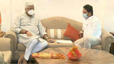 CM YS Jagan Delhi Tour: పోలవరం పర్యటనకు రావాలి, కేంద్ర జలశక్తి మంత్రిని కోరిన ఏపీ సీఎం వైయస్ జగన్, రాష్ట్రంలో సాగునీటి ప్రాజెక్టులు పూర్తి చేసేందుకు నిధులు ఇవ్వాలని వినతి