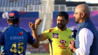 IPL 2020 CSK vs MI: ముంబై భారీ స్కోరును అందిస్తుందా? టాస్ గెలిచి ఫీల్డింగ్ ఎంచుకున్న చెన్నై సూపర్ కింగ్స్, కరోనా సంక్షోభంతో ఆరంభ వేడుకలు లేకుండానే మ్యాచ్లు