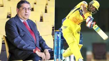 IPL 2020 Update: కారణమదేనా..రైనా ఐపీఎల్ నుంచి అర్థాంతరంగా ఎందుకు తప్పుకున్నారు? రైనాకు ఎప్పుడైనా అండగా నిలుస్తామని తెలిపిన సీఎస్కే యజమాని ఎన్. శ్రీనివాసన్