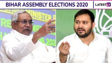 Bihar Election 2020 Dates: అక్టోబర్ 28న బీహార్ అసెంబ్లీ ఎన్నికలు, 243 స్థానాలకు మూడు దశల్లో పోలింగ్, నవంబర్ 10వ తేదీన ఓట్ల లెక్కింపు, ఎన్నికలు వాయిదా వేయాలన్న పిటిషన్ను కొట్టేసిన సుప్రీంకోర్టు