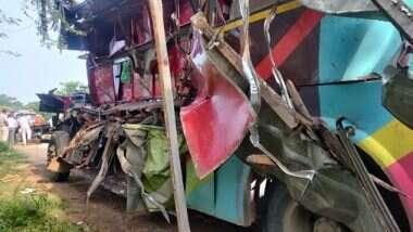 Raipur Road Accident: వలస కూలీలు మృత్యువాత, రాయ్పూర్లో బస్సు, ట్రక్కును ఢీకొన్న ఘటనలో ఏడు మంది మృతి, మరో ఏడుగురుకి తీవ్ర గాయాలు, రూ.2 లక్షలు ఎక్స్గ్రేషియా ప్రకటించిన ఒడిషా సీఎం నవీన్ పట్నాయక్