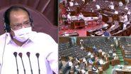 Rajya Sabha Ruckus Over Farm Bills: రాజ్యసభలో దుమారం, 8 మంది ఎంపీలపై సస్పెన్షన్ వేటు, డిప్యూటీ చైర్మన్ హరివంశ్పై విపక్షాల అవిశ్మాస తీర్మానంను తిరస్కరించిన రాజ్యసభ చైర్మన్ వెంకయ్య నాయుడు