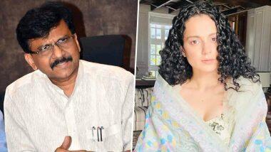 Sanjay Raut on Kangan Comments: ముంబై ఓ మినీ పాకిస్తాన్, కంగనా రనౌత్ సంచలన వ్యాఖ్యలు, ఆమె ఓ మెంటల్ కేసు అంటూ శివసేన ఎంపీ సంజయ్ రౌత్ కౌంటర్, ముదురుతున్న వివాదం