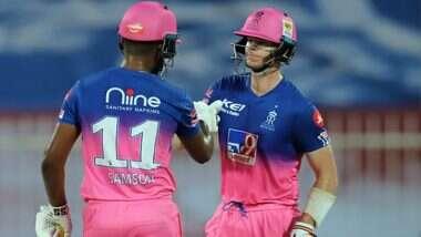 RR vs CSK Stat Highlights IPL 2020: చెన్నైని గెలిపించలేకపోయిన ధోనీ హ్యట్రిక్ సిక్సర్లు, 16 పరుగుల తేడాతో విజయం సాధించి శుభారంభం చేసిన రాజస్తాన్ రాయల్స్