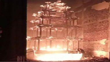 Antarvedi Temple Chariot Fire: రూ. 90 లక్షలతో కొత్త రథం, అంతర్వేది రధం దగ్ధం ఘటనలో ఈవో సస్పెండ్, నిజాలను నిగ్గు తేల్చేందుకు అంతర్గత విచారణ కమిటీ, టీడీపీకి మాట్లాడే హక్కు లేదని తెలిపిన మంత్రి శ్రీనివాస్