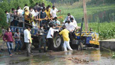 Case Booked Against Nara Lokesh: నారా లోకేష్పై కేసు నమోదు, అవగాహన లేకుండా ట్రాక్టర్ నడిపినందుకు ఐపీసీ 279,184, 54ఎ, పలు సెక్షన్ల కింద కేసు నమోదు చేసిన ఆకివీడు పోలీసులు