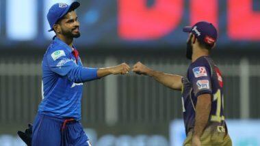 DC vs KKR Highlights IPL 2020: ఆడేసుకున్న అయ్యర్, మరోసారి విజయాన్ని నమోదు చేసిన ఢిల్లీ క్యాపిటల్స్, పోరాడకుండానే ఓడిన కోలకతా నైట్ రైడర్స్, పాయింట్ల పట్టికలో అగ్రస్థానానికి ఢిల్లీ