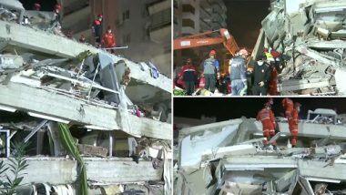 Earthquake in Turkey: సముద్రంలో పెను భూకంపం, టర్కీ, గ్రీస్ దేశాలు విలవిల, 17 మంది మృతి, క్షతగాత్రులు 700 మందికి పైగానే, షాక్లో మరికొందరు, 7.0 తీవ్రతతో భూకంపం