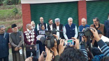 Farooq Abdullah Questioned by ED: జమ్మూ కాశ్మీర్ క్రికెట్ స్కాం, మాజీ సీఎం ఫారూక్ అబ్దుల్లాను విచారిస్తున్న ఎన్ఫోర్స్మెంట్ డైరక్టరేట్ అధికారులు, అలాంటిదేమి లేదని తెలిపిన కుమారుడు ఒమర్ అబ్దుల్లా