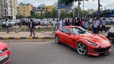 Ferrari Car Accident: హైదరాబాద్లో వరుస కార్ల ప్రమాదాలు, మాదాపూర్లో ఫెరారీ కారు బీభత్సం, ట్యాంక్బండ్ మీద నిసాన్ కారు పల్టీలు, కొత్తపేట రైతు బజారు వద్ద వ్యక్తిని ఢీకొట్టిన కారు