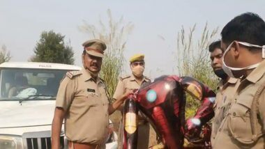 Iron Man Balloon: ఏలియన్ భూమి మీదకు దిగలేదు కదా? నోయిడా ప్రజల్ని హడలెత్తించిన ఐరన్ మ్యాన్ సూట్ బెలూన్, ఎవరూ భయపడాల్సిన అవసరం లేదని తెలిపిన పోలీసులు