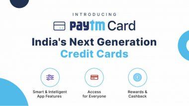 Paytm Credit Cards: పేటీఎం నుంచి 2 మిలియన్ క్రెడిట్ కార్డులు, క్రెడిట్ కార్డు మార్కెట్లో పాగా వేసేందుకు పేటీఎం సరికొత్త వ్యూహం