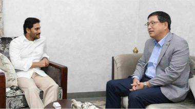 POSCO Interest to Invest in AP: ఏపీలో పెట్టుబడులు పెట్టేందుకు మరో కంపెనీ రెడీ, సీఎంతొ పెట్టుబడుల విషయమై భేటీ అయిన స్టీల్ ఉత్పత్తి సంస్థ పోస్కో ప్రతినిధులు