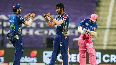 MI vs RR Stat Highlights IPL 2020: మళ్లీ అగ్రస్థానానికి ముంబై, రాజస్థాన్ రాయల్పై 57 పరుగుల తేడాతో భారీ విజయాన్ని సొంతం చేసుకున్న ముంబై ఇండియన్స్