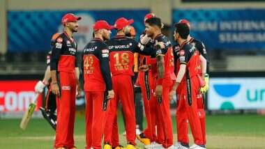 RCB vs RR Highlights IPL 2020: రాజస్తాన్ రాయల్స్పై కోహ్లీ సేన ఘన విజయం, చాన్నాళ్ల తరువాత ఆకట్టుకునే ఇన్నింగ్స్ ఆడిన కోహ్లీ, ముచ్చటగా మూడో విజయాన్ని నమోదు చేసిన రాయల్ చాలెంజర్స్ బెంగళూరు