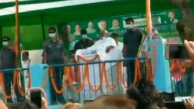 Bihar Polls: సీఎం నితీష్ ఫెయిల్యూర్ అంటూ నినాదాలు, బీహార్ సీఎం పైకి ఉల్లిపాయలు, రాళ్లు విసిరిన యువకులు, మధుబనిలోని హర్లాఖిలో ఎన్నికల ర్యాలీలో ఘటన