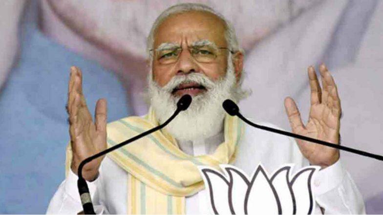 COVID Vaccination Drive in India: దేశంలో పారిశుద్ధ్య కార్మికుడుకి తొలి వ్యాక్సిన్, వర్చువల్ విధానంలో కోవిడ్ వ్యాక్సినేషన్ ప్రక్రియను ప్రారంభించిన ప్రధాని మోదీ, గురజాడ వ్యాఖ్యలతో ప్రసంగం