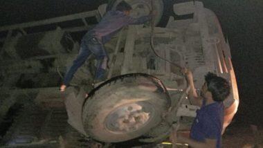 Road Accident in MP: ఎంపీలో ఘోర రోడ్డు ప్రమాదం, పదిమంది మృతి, 25 మందికి గాయాలు, మధ్య ప్రదేశ్లోని శివపురి జిల్లా పోహ్రి వద్ద విషాద ఘటన