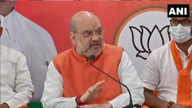 Amit Shah on Elections 2021: పశ్చిమబెంగాల్లో 200 సీట్లలో బీజేపీ గెలుపు, తొలి విడత ఎన్నికల్లో 30 స్థానాల్లో 26 మావే, అసోంలో 47 స్థానాల్లో 37 బీజేపీ గెలుస్తుంది, ధీమా వ్యక్తం చేసిన హోం మంత్రి అమిత్ షా