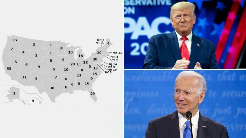 US Election 2020: అమెరికా హీరో ఎవరు..జీరో ఎవరు? వెనుకబడిన ట్రంప్, దూసుకెళ్తున్న బైడెన్, 270 ఎలక్టోరల్ ఓట్లు గెలుచుకున్నవారికే అమెరికా అధ్యక్ష పీఠం