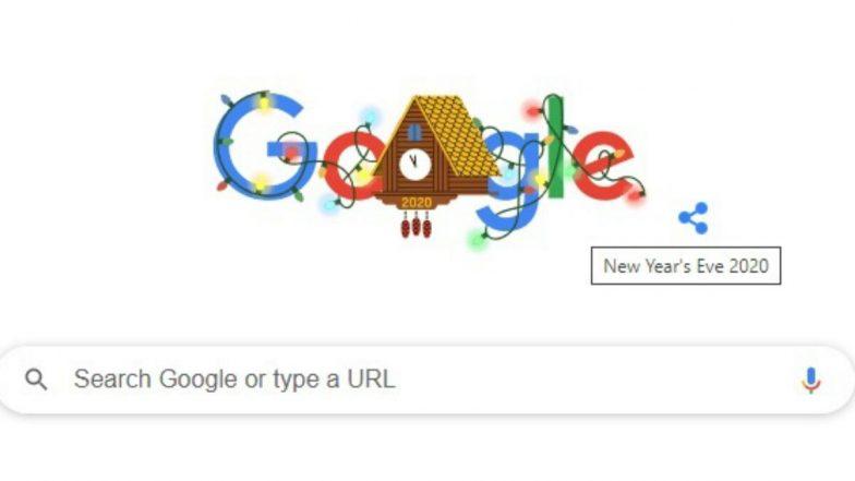 New Year's Eve 2020 Google Doodle: ఇంకా కొన్ని గంటలు మాత్రమే మిగిలి ఉన్నాయి, మీ ఇయర్ ఎండ్ సెలబ్రేషన్ జోష్ ఎలా ఉంది? అందమైన డూడుల్తో 2021కి కౌంట్డౌన్ ప్రారంభించిన డూడుల్