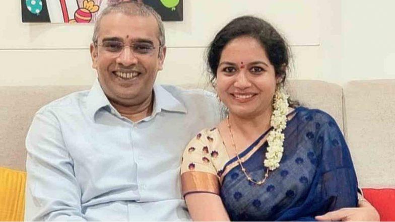 Singer Sunitha Engagement with Ram: వ్యాపారవేత్త రామ్ వీరపనేనితో సింగర్ సునీత నిశ్చితార్థం, సోషల్ మీడియాలో తన ఎంగేజ్మెంట్ ఫోటోలను షేర్ చేసిన టాలీవుడ్ గాయని