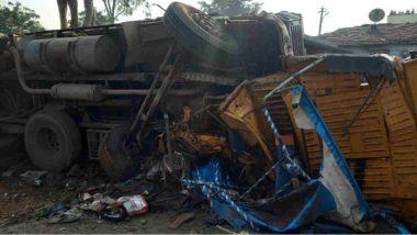Vikarabad Road Accident: పొగమంచే కొంపముంచిందా.. వికారాబాద్లో ఘోర రోడ్డు ప్రమాదం, ఆటో,లారీ, బస్సు ఢీ.. ఒకే కుటుంబంలో ఐదుగురు మృతి, ప్రమాద స్థలాన్నిసందర్శించిన ఎమ్మెల్యే, ప్రభుత్వం తరపున ఆదుకుంటామని ప్రకటన