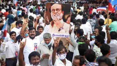 Tamil Nadu Polls: బీజేపీకి షాకిచ్చిన రజినీకాంత్ అభిమానులు, స్టాలిన్ పార్టీ డీఎంకే కండువా కప్పుకున్న అభిమానులు, మీ ఇష్టం ఏ పార్టీలోనైనా చేరండని తెలిపిన రజనీ మక్కల్ మంద్రమ్ టీమ్