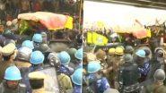 Farmers' Tractor Rally: ఢిల్లీలో ట్రాక్టర్ కింద పడి రైతు మృతి, తీవ్ర హింసాత్మకంగా మారిన ట్రాక్టర్ల ర్యాలీ, దేశ రాజధానిలో ఇంటర్నెట్, మెట్రో సేవలు బంద్