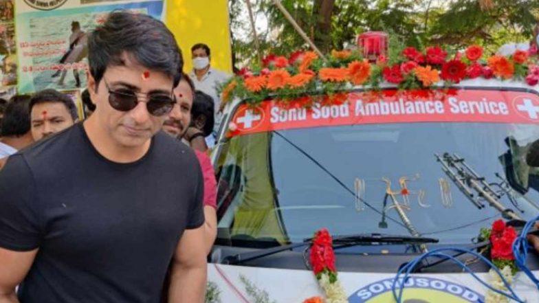 Sonu Sood Ambulance Service: ట్యాంక్బండ్ శివను కలిసిన సోనూ సూద్, సోనూసూద్ అంబులెన్స్ సర్వీస్ ని ప్రారంభించిన రియల్ హీరో, తాను ఉన్నానంటూ భరోసా
