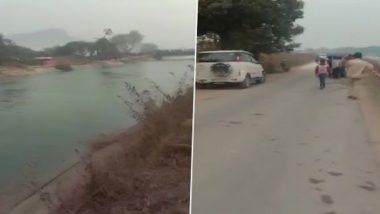 Madhya Pradesh Bus Accident: కాల్వలోకి దూసుకెళ్లిన బస్సు, 54 మంది ప్రయాణీకులు గల్లంతు, నలుగురి మృతదేహాలు వెలికితీత, తీవ్ర దిగ్బ్రాంతిని వ్యక్తం చేసిన మధ్యప్రదేశ్ ముఖ్యమంత్రి శివరాజ్ సింగ్ చౌహాన్