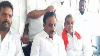 Tamil Nadu Assembly Elections 2021: తమిళనాడు సీఎం అక్రమసంతానం వ్యాఖ్యలపై క్షమాపణ కోరిన డీఎంకే నేత రాజా, రాజకీయంగా మాత్రమే విమర్శలు చేశానంటూ వెల్లడి, వ్యక్తిగత దూషణలతో దూసుకుపోతున్న తమిళనాడు రాజకీయాలు