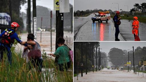Australia Floods: మెరుపు వరదలు..భయం గుప్పిట్లో వేలాదిమంది ప్రజలు, 1960 తర్వాత ఆ స్థాయి వరదలతో విలవిలలాడుతున్న ఆస్ట్రేలియా, జలమయమైనసిడ్నీ,న్యూసౌత్ వేల్స్