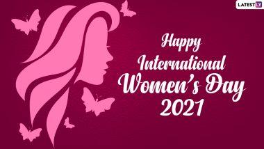 International Women's Day 2021: అంతర్జాతీయ మహిళా దినోత్సవ శుభాకాంక్షలు, కార్మిక ఉద్యమం నుంచి పుట్టుకొచ్చిన అంతర్జాతీయ మహిళా దినోత్సవం, మార్చి 8వ తేదీనే ఈ దినోత్సవం ఎందుకు జరుపుకుంటారు ?