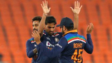 India vs England, 5th T20I: భారత్ రికార్డుల మోత, ఎనిమిది సిరీస్ల తర్వాత తొలిసారి ఓటమిని చవి చూసిన ఇంగ్లండ్, ఐదు టి20 మ్యాచ్ల సిరీస్ను 3–2తో గెలుచుకున్న భారత్, అంతర్జాతీయ టీ20ల్లో టాప్-2లోకి దూసుకొచ్చిన రోహిత్ శర్మ
