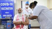 PM Modi Takes COVID-19 Vaccine: కరోనా వ్యాక్సిన్ వేయించుకున్న భారత ప్రధాని నరేంద్ర మోదీ, ప్రధానికి టీకా ఇచ్చిన సిస్టర్ నివేదా, అర్హులైన ప్రతి ఒక్కరు కొవిడ్ టీకా వేయించుకోవాలని ప్రధాని పిలుపు