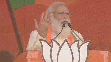 West Bengal Polls 2021: బంగారు బంగ్లాని ప్రజలు కోరుకుంటున్నారు, బ్రిగేడ్ పరేడ్ గ్రౌండ్ వేదికగా మమత సర్కారుపై విరుచుకుపడిన ప్రధాని నరేంద్ర మోదీ, నిరసనగా ర్యాలీ చేపట్టిన మమతా బెనర్జీ