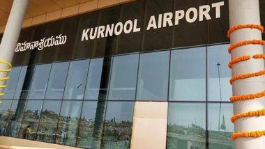 Kurnool Airport Inauguration: నెరవేరిన కర్నూలు జిల్లా వాసుల చిరకాల స్వప్నం, ఓర్వకల్ విమానాశ్రయాన్ని ప్రారంభించిన ఏపీ సీఎం వైఎస్ జగన్మోహన్ రెడ్డి, మార్చి 28 నుంచి విమాన సర్వీసులు ప్రారంభం
