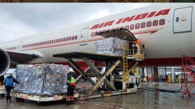 India Covid: దేశంలో ఆక్సిజన్ కొరత, భారీ సాయాన్ని ప్రకటించిన సింగపూర్, 500 బైపాప్ పరికరాలతో సింగపూర్ నుంచి ముంబైకు చేరుకున్న ఎయిర్ ఇండియా విమానం