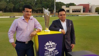T20 World Cup 2021: హైదరాబాద్లో టీ20 వరల్డ్కప్ మ్యాచ్, మొత్తం 9 నగరాల్లో వేదికలను ఖరారు చేసిన బీసీసీఐ, నరేంద్ర మోదీ స్టేడియంలో వరల్డ్కప్ ఫైనల్ మ్యాచ్, పాక్ ఆటగాళ్లకు వీసా లైన్ క్లియర్