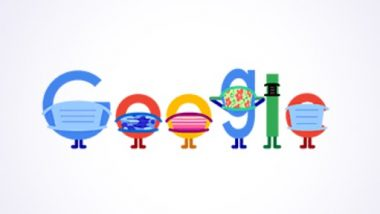 Covid Google Doodle: మాస్కులు ధరించాల్సిన అవసరం ఇప్పటికీ ఉంది. మాస్క్ ధరించండి, ప్రాణాలు కాపాడండి, కరోనా వైరస్ రాకుండా జాగ్రత్తలు తీసుకోవాలంటూ గూగుల్ డూడుల్, దేశంలో శరవేగంగా పెరుగుతున్న కోవిడ్ కేసులు