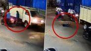 Cyberabad Traffic Police Tweet: షాకింగ్ వీడియోను ట్వీట్ చేసిన సైబరాబాద్ పోలీసులు, మద్యం మత్తులో రోడ్డు పైకి వచ్చిన వ్యక్తిని బలంగా ఢీకొట్టిన వాహనం