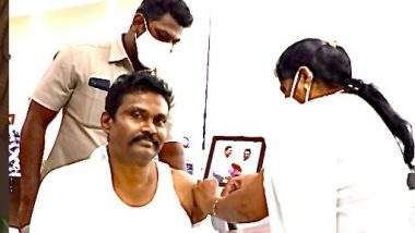 IPS Officer P.V. Sunil Kumar: ఏపీలో ఉచిత వ్యాక్సిన్, నెల జీతాన్ని విరాళంగా ప్రకటించిన ఐపీఎస్ ఆఫీసర్ పీ.వీ. సునీల్ కుమార్, మే 1 నుంచి 18 ఏళ్లు పైబడిన వారికి ఉచితంగా టీకాలు వేయనున్న ఏపీ ప్రభుత్వం