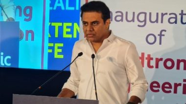 MEIC in Hyderabad: అమెరికా తర్వాత..హైదరాబాద్లో మెడ్ ట్రానిక్ ఇంజినీరింగ్ కేంద్రం, వేల మందికి ఉపాధి అవకాశాలు, 140 దేశాల్లో వ్యాపార కార్యకలాపాలు నిర్వహిస్తున్న మెడ్ ట్రానిక్, కొత్త కేంద్రాన్ని ప్రారంభించిన ఐటీ మంత్రి కేటీఆర్
